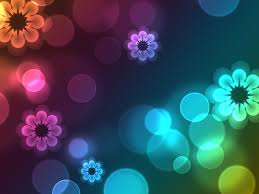 google themes lights colored floral lights google skins colored floral lights google