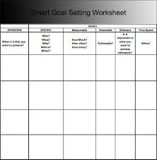 9 goal sheet templates free pdf documents download creative