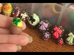diy polymer clay bows mini for decorating desserts and such