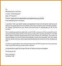 8 appreciation letter to employees actionplan templated