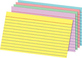 office depot brand rainbow index cards ruled 5 x 8 assorted colors