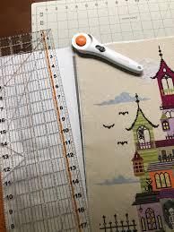 stich halloween background halloween haunted house cross stitch pillow u2013 anthropojenic