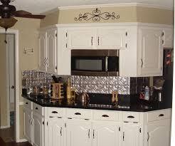 tin backsplash new trends alluring kitchen metal backsplash home