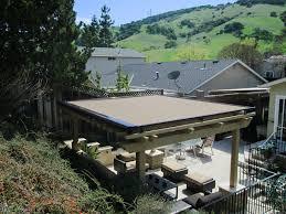 Roof Trellis Retractable Pergola Covers Ers Shading San Jose Ca