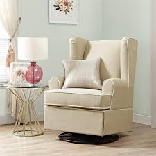 swivel glider chairs living room dorel living eddie bauer swivel glider beige