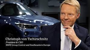 bmw ceo christoph von tschirschnitz at bmw transforming the car industry