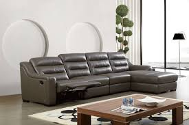 Leather Sectional Sofas San Diego Top Grain Leather Ribbed Sectional Sofa With Recliner San Antonio