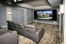 home cinema interior design home theater interior side view of modern home theater