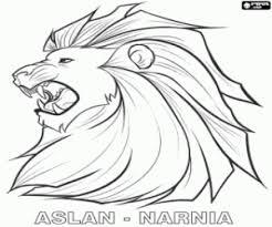 image colour magical lion aslan