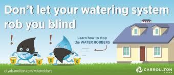 How Does An Outdoor Faucet Work Homesteady Water Utility Billing Faq City Of Carrollton Tx