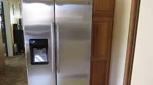 Showcase Design Samsung 24 7 Cu Ft Side By Side Refrigerator With Food Showcase