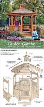wedding arch blueprints garden gazebo plans outdoor plans and projects woodarchivist
