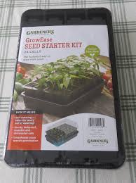 Greenhouse Starter Kits Review Growease Seed Starting Kit Susan U0027s In The Garden