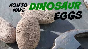 how to make dinosaur surprise eggs youtube