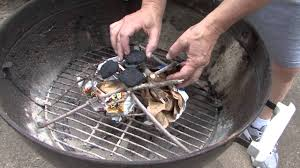 best way to light charcoal how to start a barbecue without lighter fluid youtube