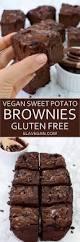 vegan sweet potato brownies gluten free recipe elavegan