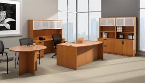 Arizona Used Office Furniture by Offices To Go Otg Desk In American Cherry Acl At Boca Office