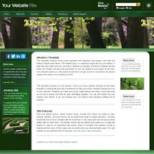 html web template allwebco green business website image