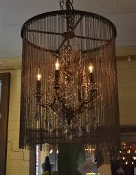 Iron Chandelier With Crystals Vaille Crystal 5 Bulb Chandelier The Khazana Home Austin