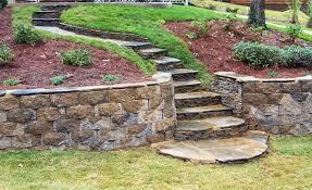 Landscaping Ideas For Sloped Backyard Decoration In Landscape Ideas For Sloping Backyard Landscaping