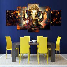 Living Room Paintings Ganesha Oil Paintings Reviews Online Shopping Ganesha Oil