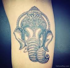 small ganesha tattoos pictures to pin on pinterest tattooskid