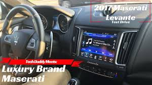 first drive 2017 maserati levante tech daddy meets luxury brand maserati u0026 2017 maserati levante