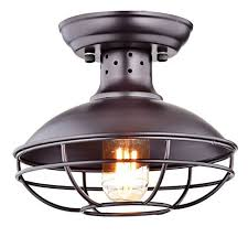 Ceiling Flush Mount Lights by Industrial Flush Mount Lighting Amazon Com
