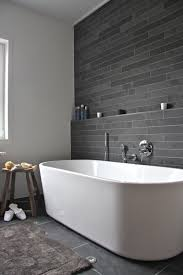 White Wall by We Adore This White And Grey Bathroom Complete With Lavish Basin