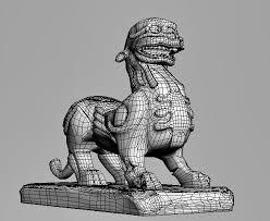 pixiu statue pixiu statue 3d model 3ds max files free