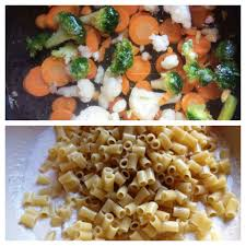 bonduelle si e social rigatoni incoronati cu legume si sos de smantana meseria