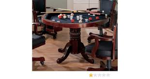 Dining Room Table Pool Table - amazon com 3 in 1 game table poker pool pedestal table kitchen
