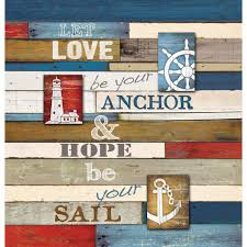 Nautical Anchor Shower Curtain Nautical Anchor Inspiration Shower Curtain U2013 Laural Home