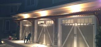 reader built trellis above garage doors woodwork city free