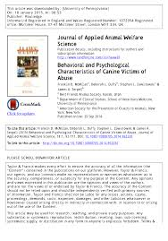 characteristics of a australian shepherd behavioral and psychological characteristics of canine victims of