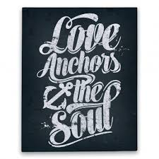 Quot Love Anchors The Soul - love anchors the soul canvas print human this is me