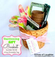 printable tags for gift baskets gardening gift basket free printable tag printable tags free