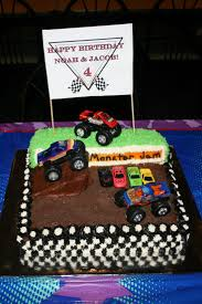 grave digger monster truck cake 30 best jadiel u0027s 4th birthday images on pinterest monster