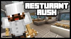 minecraft hell u0027s kitchen restaurant rush youtube