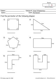Free Printable Perimeter And Area Worksheets Primaryleap Co Uk Perimeter Worksheet