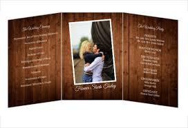 tri fold wedding invitation template trifold format zoro blaszczak co