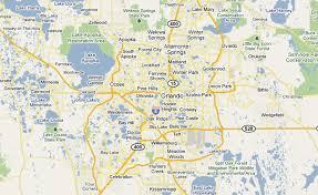 Map Of Kissimmee Popular 176 List Google Maps Orlando