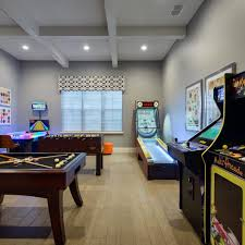 basement arcade ideas varyhomedesign com