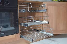 pull out wire baskets for cabinets home design