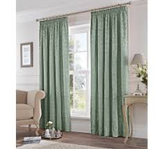 Duck Egg And Gold Curtains Pencil Pleat Curtains Yorkshire Linen