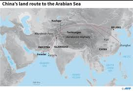 Karakorum On Map One Way Street Cpec More About Expanding China U0027s Growth Than