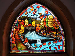 painting on glass windows religious traditional stained glass castle studio stained glass