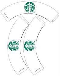 free printable starbucks cupcake wrappers to go with the starbucks