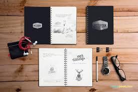 28 notebook mockups free u0026 premium templates