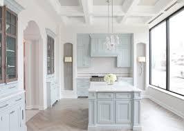 light blue cabinets kitchen light blue showroom kitchen cabinets